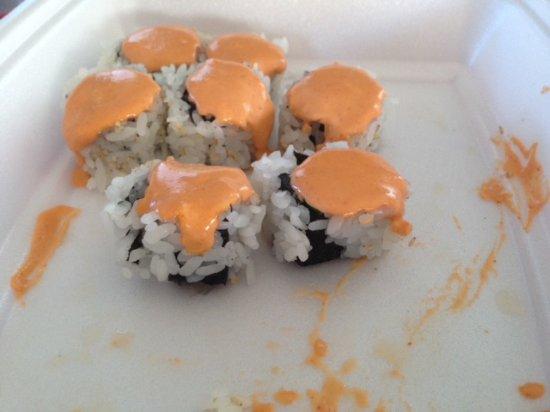 Raw Shrimp Picture Of Sushi Boat Calgary Tripadvisor