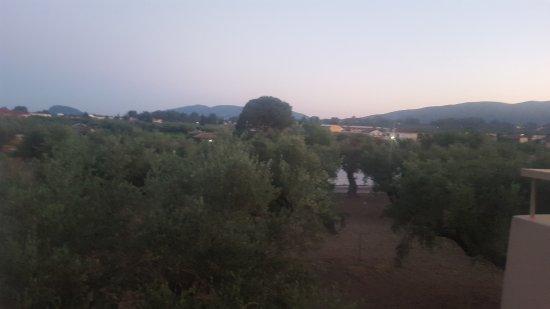 Agrilia Hotel: Photo of how far away from Laganas Main Strip