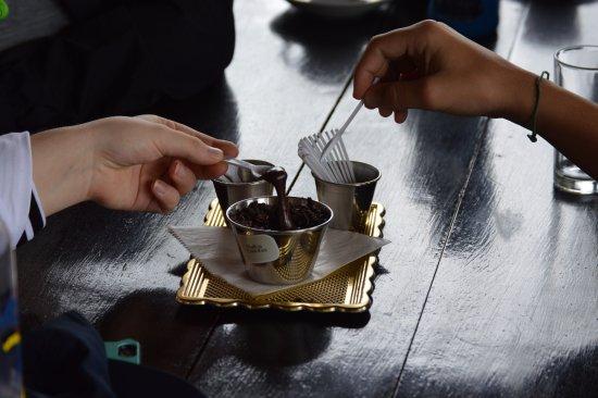 Rincon de La Vieja, Costa Rica: The chocolate tasting was divine