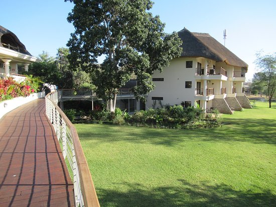 Ilala Lodge: The hotel architecture is very interesting & generally works well (unless you have trouble walki