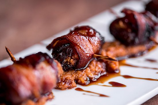 Decatur, GA: Bacon wrapped dates.