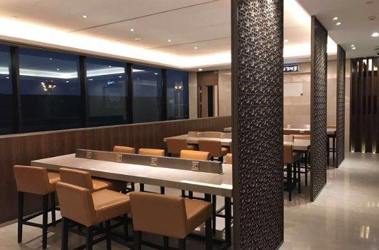 Sala del aeropuerto internacional de Shanghai Pudong o Hongqiao