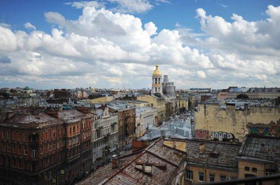Rooftops of Saint Petersburg