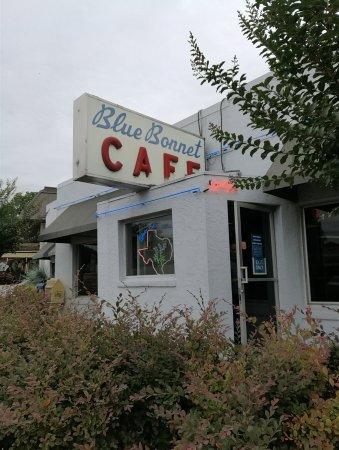 Marble Falls, تكساس: Blue Bonnet Cafe