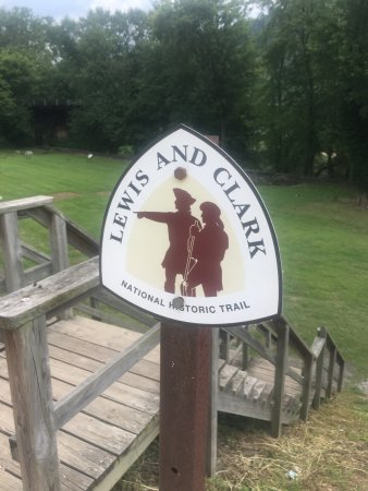 Lewis and Clark Trail in Harpers Ferry
