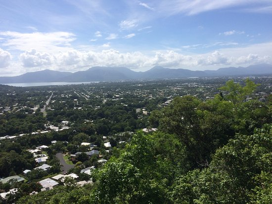 Edge Hill, Australia: looking out over Cairns