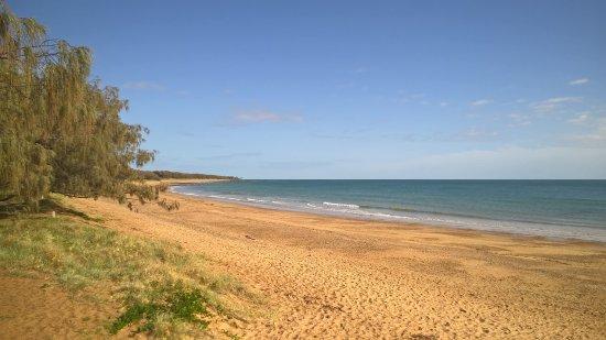 Bargara Beach near the Turtle Observatory.
