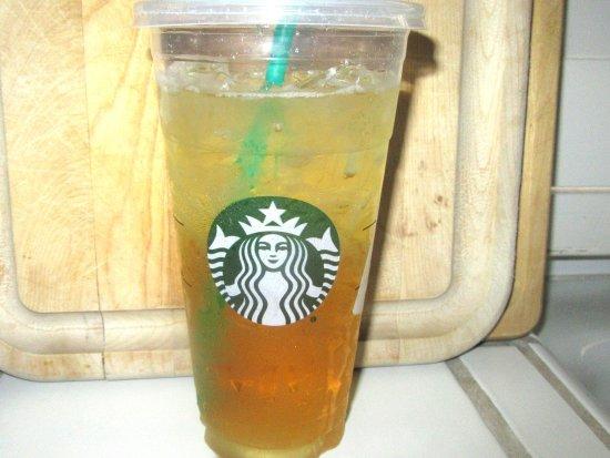 Unsweetened Green Tea Ice Tea, Milpitas CA