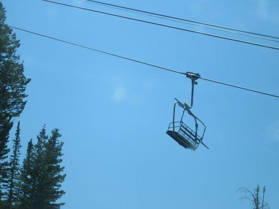 Ski Chair, Wasatch Mountains, Utah