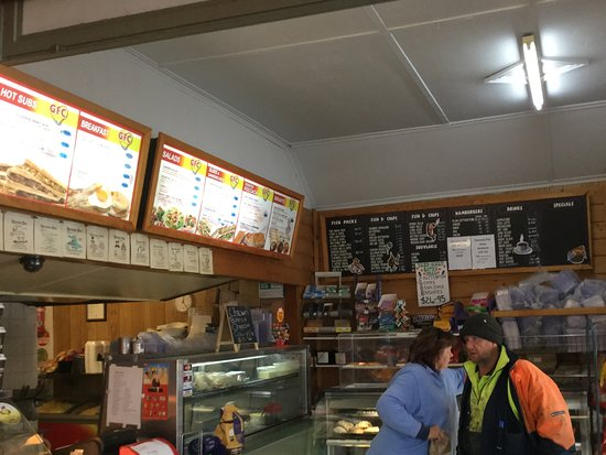Avoca, Australia: Main counter