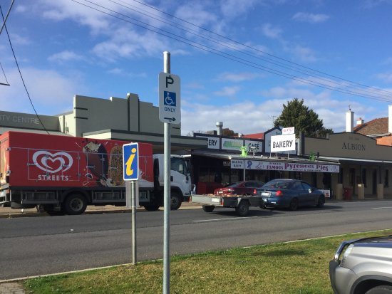 Avoca, ออสเตรเลีย: Road view