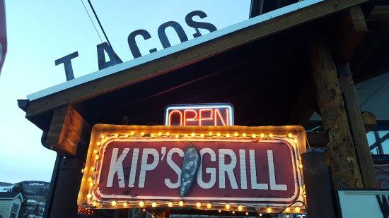 Creede, CO: Kip's Open for business. Let the fun times begin.