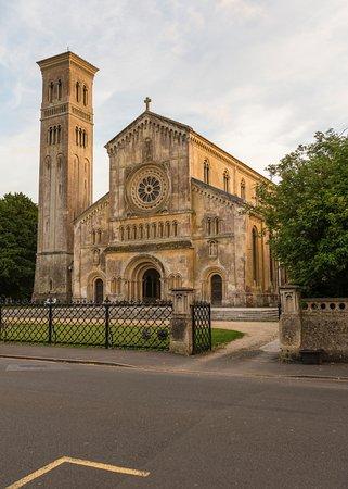South Newton, UK: Italianate Church in nearby Wilton