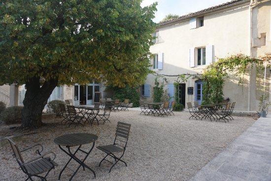 Hotel La Bastide du Bois Breant : Terrasse