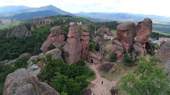 Belogradchik, Bulgaria: View from the top