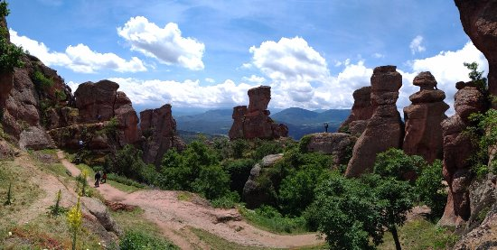 Fortaleza de Belogradchik: Landscape panorama