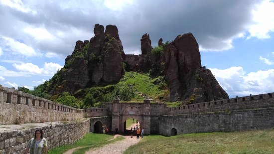 Fortaleza de Belogradchik: The entrance