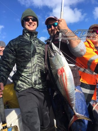 Portland tuna fishing charters picture of reel time for Portland fishing guides