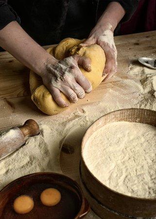 Roccatederighi, Italia: Pasta all'uovo fatta a mano