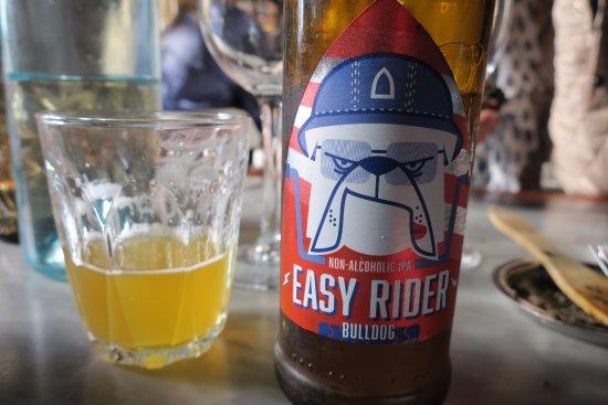 Burgsvik, Sweden: Bra alkoholfritt öl