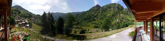 Castelmagno, Italy: Veduta panoramica