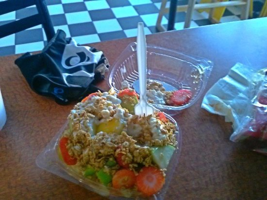 Brawley, CA: Ricas ensaladas de frutas
