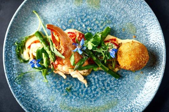 Bampton, UK: lobster