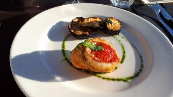 L'Esperluette: Tartelette mozzarella tomates