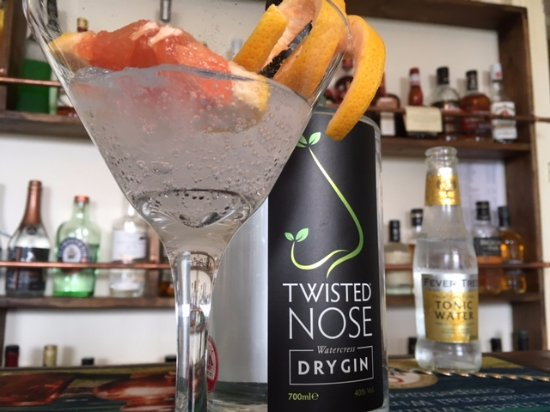 Prince Hall Hotel Devon Restaurant: Gin & Tonic