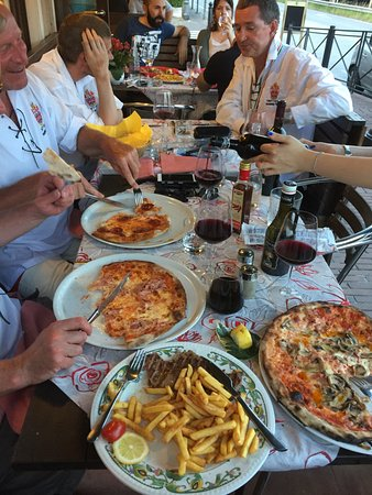 Oriago di Mira, Ιταλία: Plenty to choose from