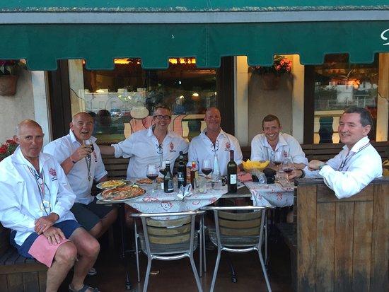 Oriago di Mira, Ιταλία: Everyone enjoyed their meal.
