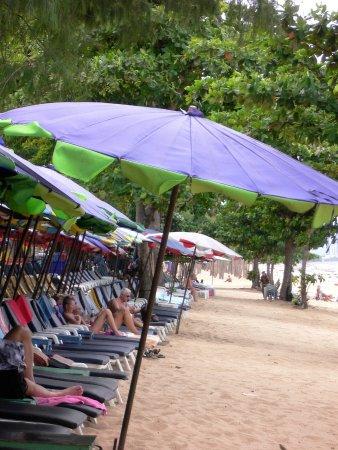 Bang Lamung, Tayland: ビーチの景色です。