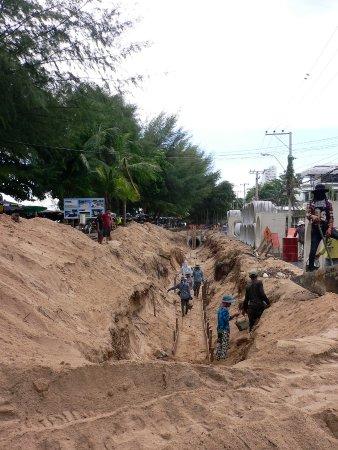 Bang Lamung, Thailand: 現在工事中です。