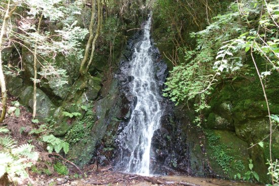 Kagamino-cho, Japonia: 楠谷滝 意外と立派です