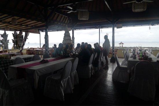 Lezat Beach Restaurant Bali Indonesia