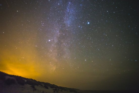 Terschelling, Nederland: The Milkyway
