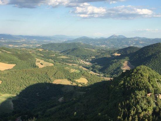 Monte Santa Maria Tiberina, Italia: View form Monte Santa Maria.