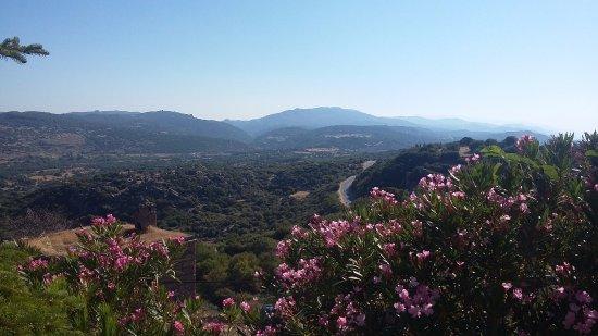 Assos Alarga, Bed and Breakfast : Panorama aus der Terasse