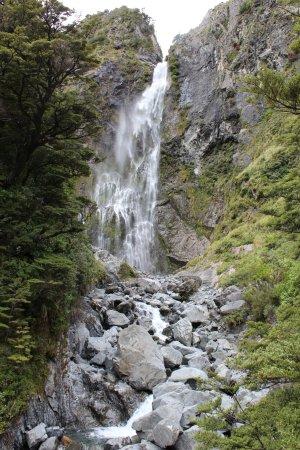 Arthur's Pass National Park, Nya Zeeland: Y al final del camino ....
