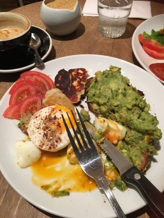 Photo of Flat White Cafe in London, , GB