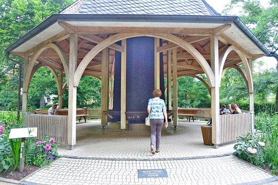 Bad Salzschlirf, Germany: Gradierpavillon im Kurpark