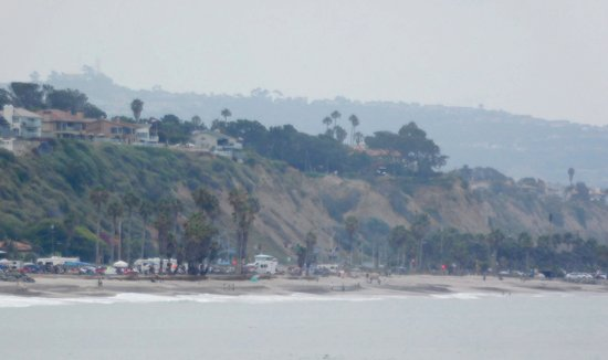 Dana Point, CA: Looking back toward San Clemente