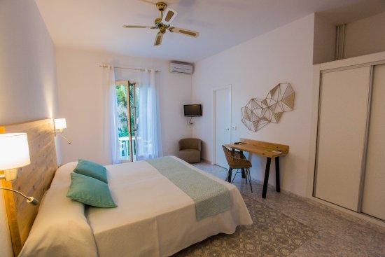 Hotel Tagomago: Habitación doble ; double room