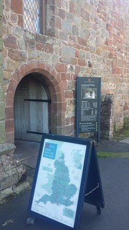St Mary Magdalene Church: entrance area