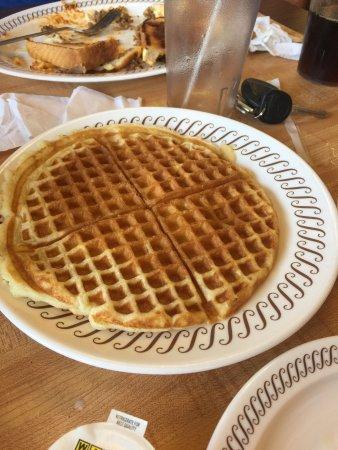 Subpar for a waffle house