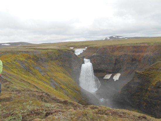 Fludir, Islandia: Ankunft beim Kerlingarfoss,mit Riding Tours south Iceland