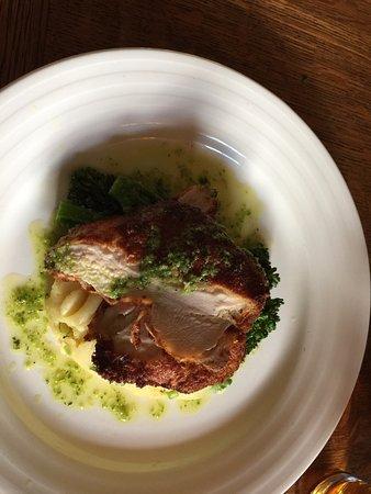 Leighton Buzzard, UK: Chicken schnizel