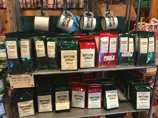 The Apple Barn Cider Mill And General Store: Coffees & Mugs at AppleBarn General store