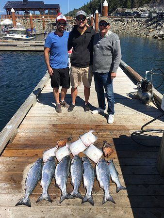 Port Renfrew, Canada: Marcus Kennett Fishing Charters