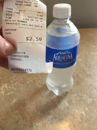 Quality Inn: What you can't have - is water.